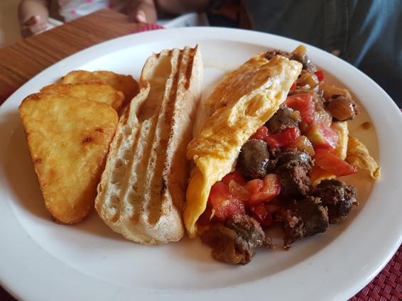 Algiers Merguez Omelet