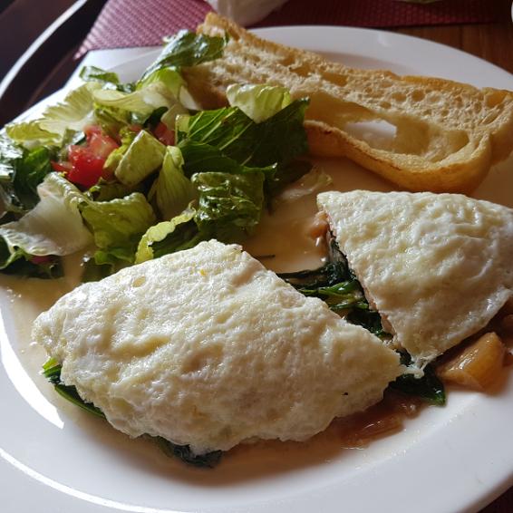 Half Moon Bay Salmon Omelet (Egg-white)